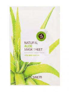 """""""СМ"""" Natural Aloe Mask Sheet Маска тканевая с экстрактом алое вера 21мл"""