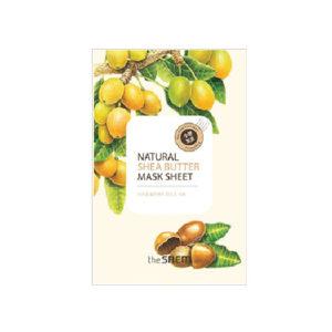 """""""СМ"""" Natural Shea Butter Mask Sheet  Маска тканевая с экстрактом масла ши 21мл"""