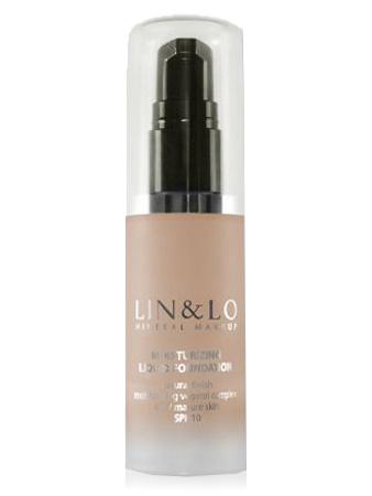 LIN&LO Тональная основа увлажняющая LLFH10 натуральный бежевый