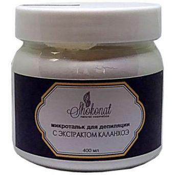Микротальк для депиляции волос с экстрактом каланхоэ (Код 4606 - объем 400 мл)