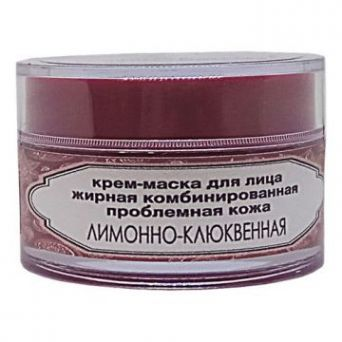 Крем-маска «Облако» ЛИМОННО-КЛЮКВЕННОЕ для жирной, проблемной, комбинированной кожи (Код 99264 - вес 500 г)