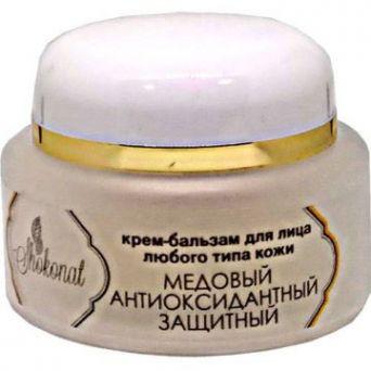 Гель-бальзам «Медовый» защитный, антиоксидантный для лица с маточным молочком и прополисом (Код 552310 - объем 50 мл)