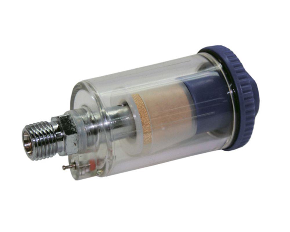 """Jeta JF80 Фильтр влагоотделитель с клапаном слива конденсата для краскораспылителя, 1/4"""""""