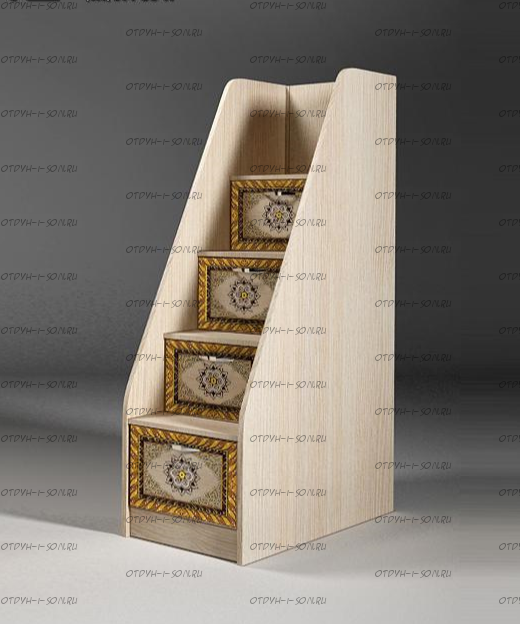 Лестница-тумба Жасмин Ж 13/8-2У (40х100х150)