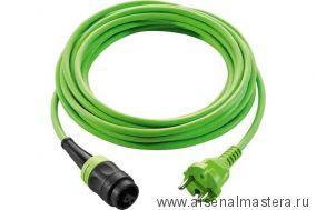 АКЦИЯ 2021 ! Кабель зеленый с быстроразъемным соединением plug it Festool H05 BQ-F-7,5 (7,5 м) 203922
