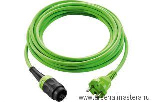 АКЦИЯ 2021 ! Кабель зеленый с быстроразъемным соединением 4 м plug it Festool H05 BQ-F-4 203921