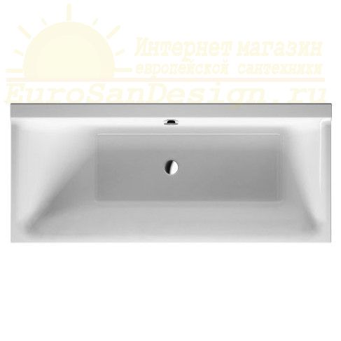 Duravit ванна P3 Comforts 170x70 700373 c наклоном слева ФОТО