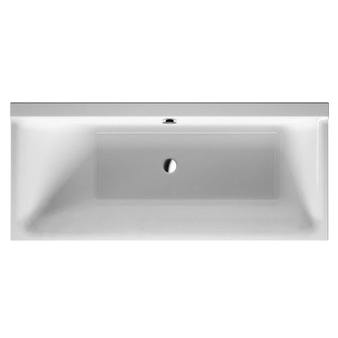 Duravit ванна P3 Comforts 170 х 75 см 700375 c наклоном слева