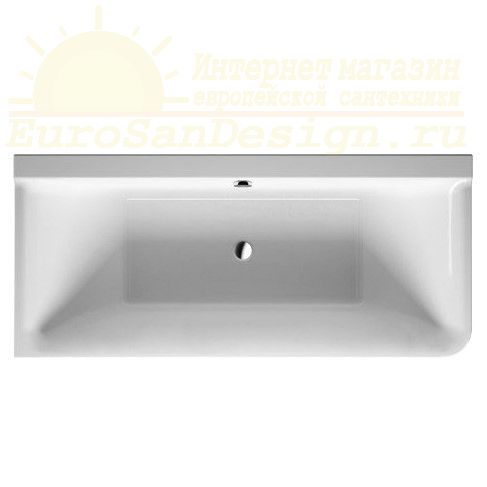 Duravit ванна P3 Comforts 180x80 700379 угол слева ФОТО