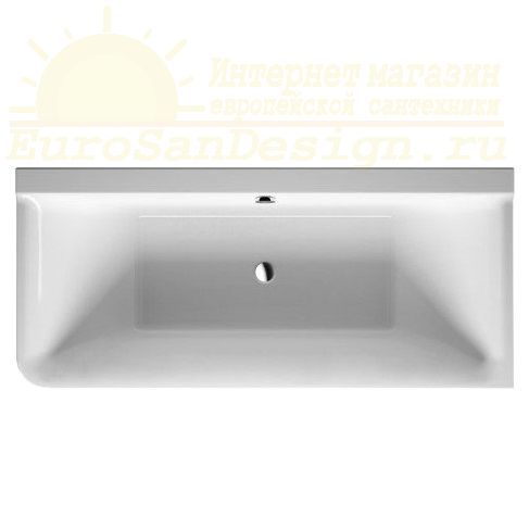 Duravit ванна P3 Comforts 180x80 700380 угол справа ФОТО