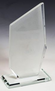 Награда из стекла  (17,5 см, нанесение  включено в стоимость)