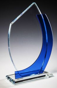 Стекло -награда (20.5 см, нанесению включено в стоимость)