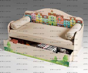 Кровать Волшебный Город арт. 40022 (70х160)