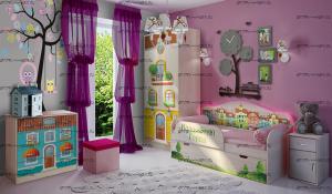 Детская комната Волшебный Город №2