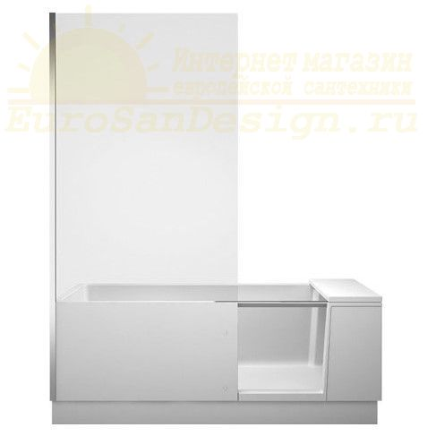 Duravit Комбинированная ванна с дверью Shower + Bath 170x75 700403 ФОТО