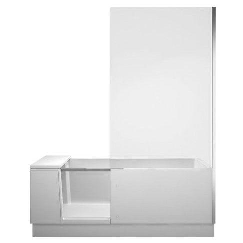 Комбинированная ванна с дверью Duravit  Shower + Bath 170x75 700404 ФОТО