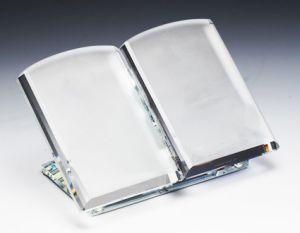 Книга-стекло (9 см, нанесение включено в стоимость)