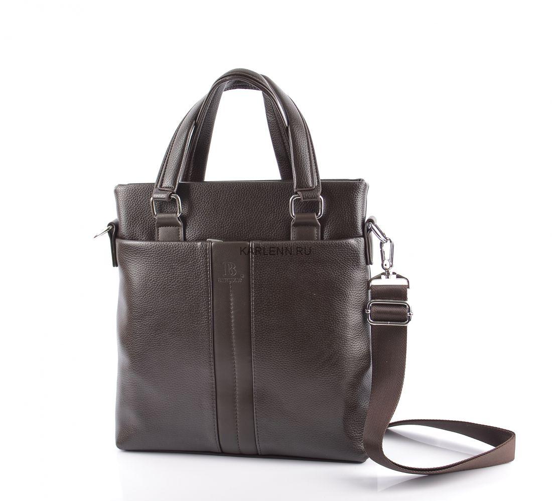 Мужская сумка  (1586-2 коричневая)