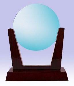 Круг - стекло (16 см, нанесение включено в стоимость)