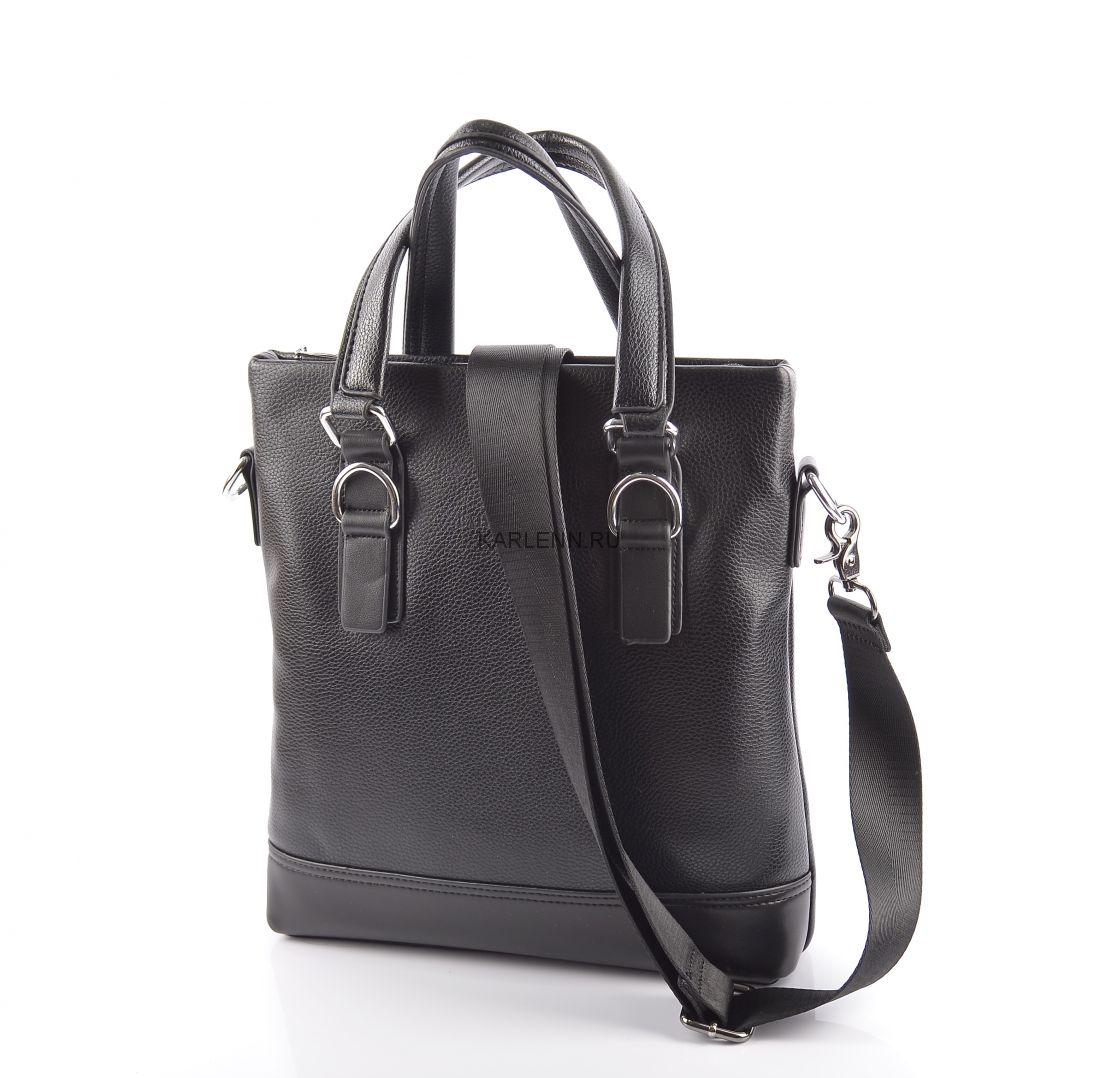 Мужская сумка  (1617-2 черная)