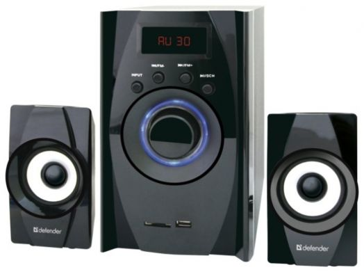 Мультимедийные колонки 2.1 Defender X200 20W Bluetooth, FM/MP3/SD/USB
