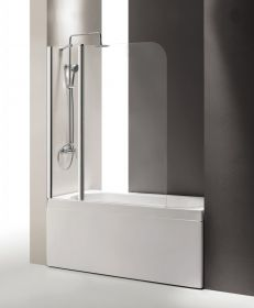 Шторка на ванну Cezares ECO-O-V-11-120/140-C-Cr