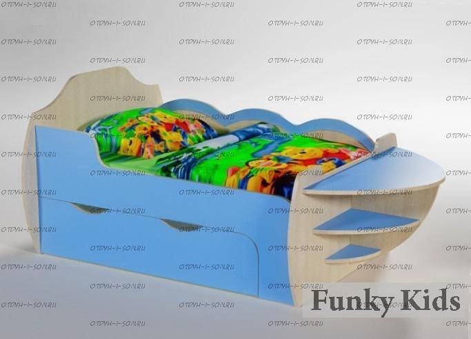 Кровать растущая Вырастайка ВР-05 (Корабль) (80х120/150/180)