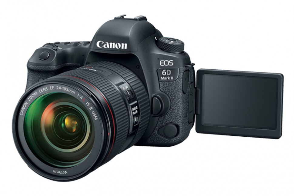 Canon EOS 6D Mark II Kit 24-105MM4L IS II USM