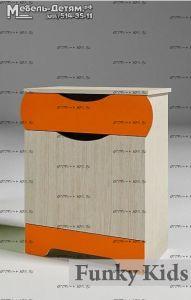 Тумба прикроватная Вырастайка ВР-013 (51х40х67)