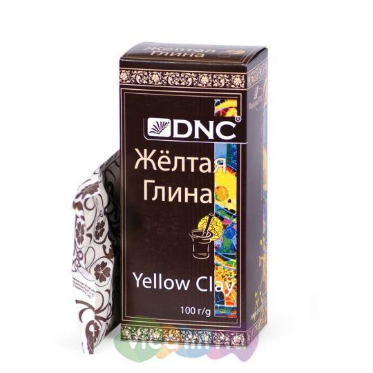 """DNC Глина косметическая """"Желтая"""", 100 гр"""