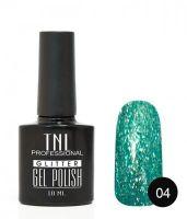 TNL гель-лак Glitter 04, 10 ml