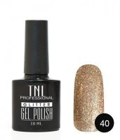 TNL гель-лак Glitter 40, 10 ml