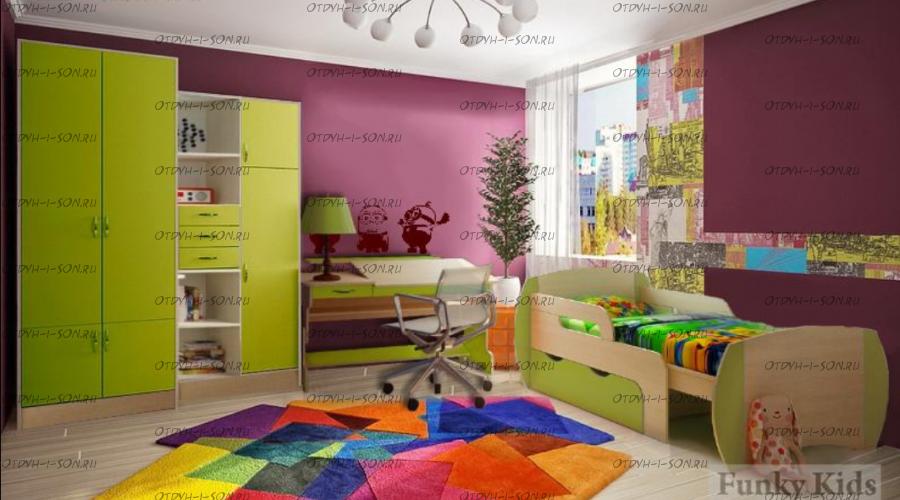 Детская комната Вырастайка №7