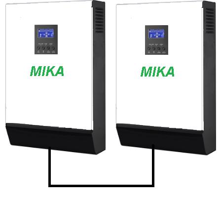 Гибридная система MIKA-8000P 8кВт PWM