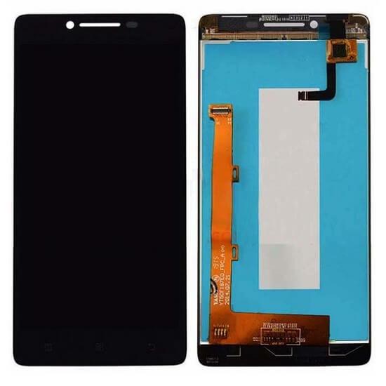Дисплей в сборе с сенсорным стеклом для Lenovo A6000, A6010