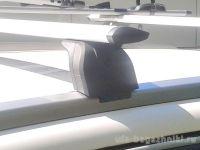 Багажник на крышу Peugeot 4008, Lux, крыловидные дуги на интегрированные рейлинги
