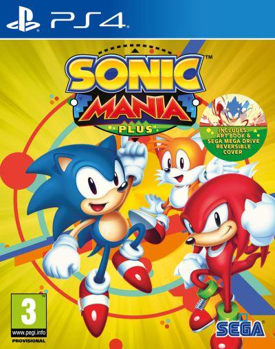 Игра Sonic Mania Plus (PS4)