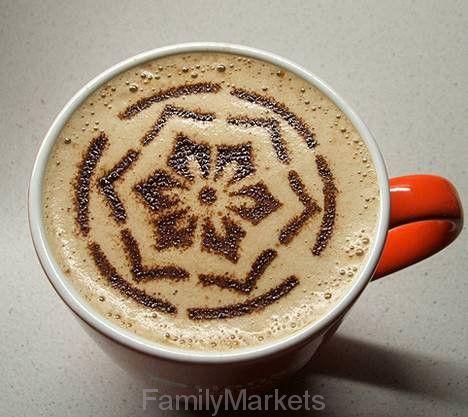 Трафареты для украшения кофе
