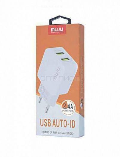 Адаптер питания с USB MUJU MJ-A02 (НАБОР)