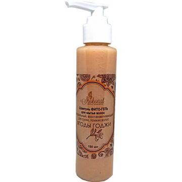 Шампунь ФИТО-ГЕЛЬ для мытья сухих, ломких волос восстанавливающий «Ягода Годжи» (Код 56611 - объем 150 мл)