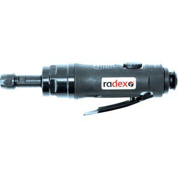 RADEX Пневматическая прямая зачистная шлифовальная мини-машинка, 3600 об.мин.