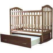 Кроватка Алита 4 поперечный маятник, ЗАКРЫТЫЙ ящик