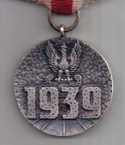 медаль 1939 г. За участие в оборонительной войне. Польша