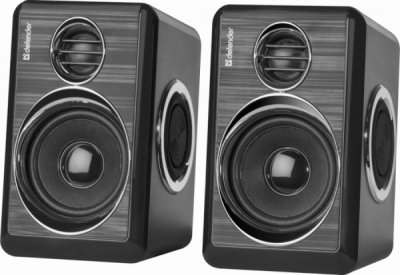 Акция!!! Акустическая 2.0 система Q7 черный, 6 Вт, питание от USB
