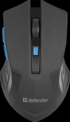 Беспроводная оптическая мышь Accura MM-275 синий,6 кнопок, 800-1600 dpi