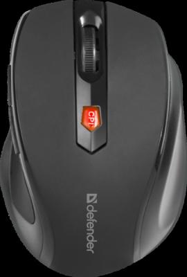 НОВИНКА. Беспроводная оптическая мышь Ultra MM-315 черный,6 кнопок, 800-1600 dpi