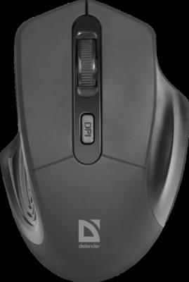 Беспроводная оптическая мышь Datum MB-345 черный,4 кнопки, 800-1600 dpi