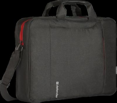 """Сумка для ноутбука Geek 15.6"""" черный, карман"""