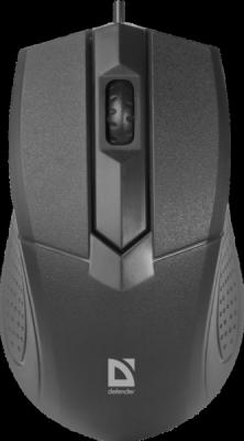 Проводная оптическая мышь Optimum MB-270 черный,3 кнопки,1000 dpi