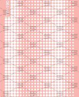 Слайдер-дизайн «Белые точки» TW- 190 Dream Nails (водные наклейки)